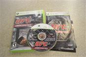 UFC 2009 UNDISPUTED - XBOX 360 GAME